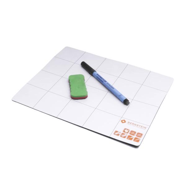 Magnetmatte mit Stift und Schwamm