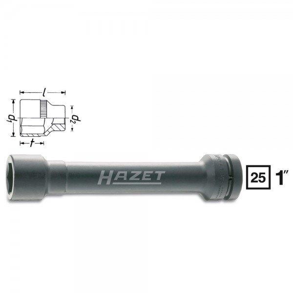 Hazet Schlag-, Maschinenschrauber-Steckschlüssel-Einsatz (6kt.) 1104S-32 - Vier