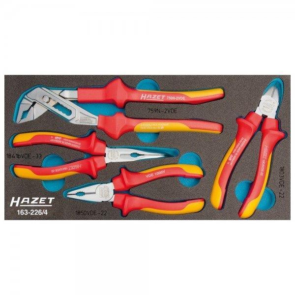 Hazet Zangen-Satz VDE 163-226/4 - Anzahl Werkzeuge: 4