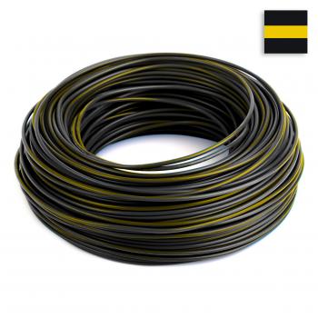 FLRY Kabel 0,50 mm² schwarz-gelb