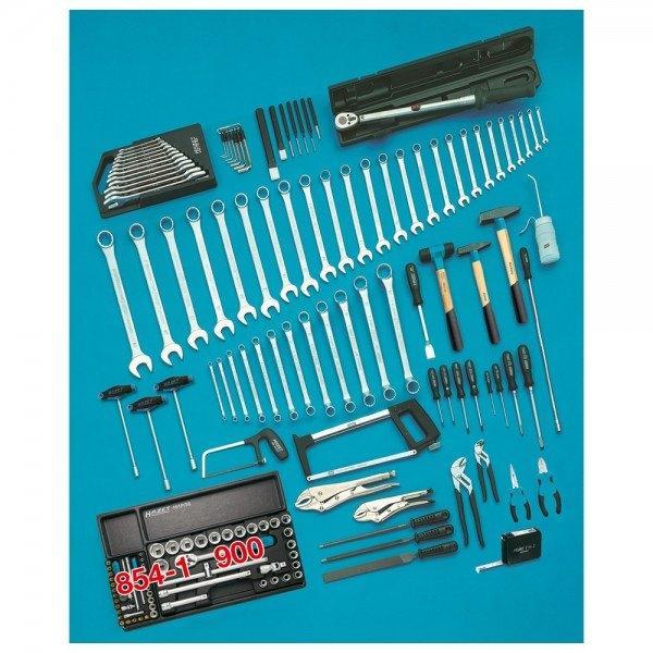 Hazet Werkzeug-Sortiment 0-174/151 - Anzahl Werkzeuge: 151