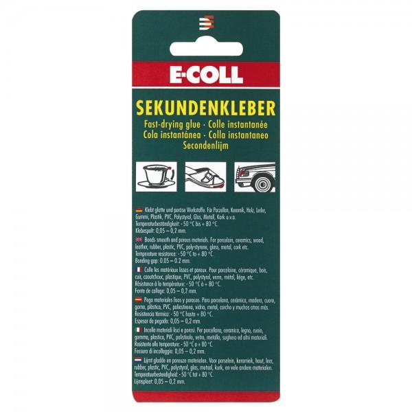 E-COLL EU Sekundenkleber 3 g
