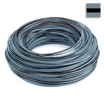 FLRY Kabel 1,50 mm² grau-schwarz