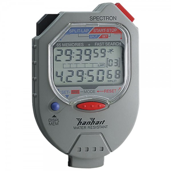 Hanhart Digitale-Stoppuhr 1/100-Minuten 1/100S