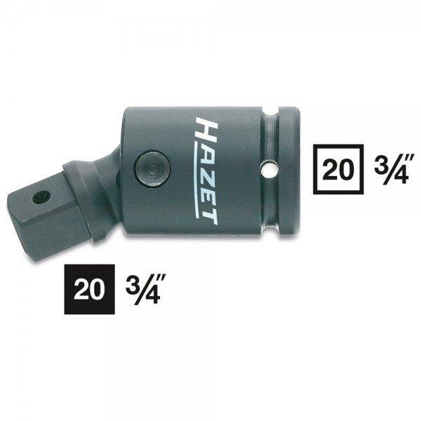 Hazet Schlag-, Maschinenschrauber-Gelenkstück 1006S - Vierkant hohl 20 mm (3/4