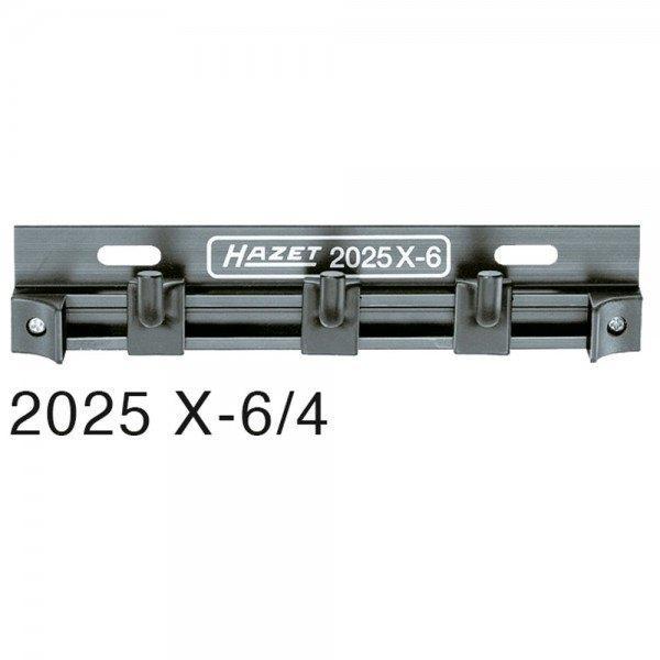 Hazet Führungsschiene mit Haken 2025X-6/4 - Anzahl Werkzeuge: 4