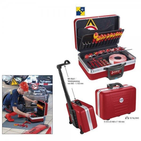 Hazet Werkzeug-Satz für Hybrid- und Elektrofahrzeuge 150/43 - Vierkant hohl 10