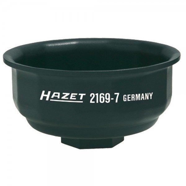 Hazet Ölfilter-Schlüssel 2169-7 - Vierkant hohl 12,5 mm (1/2 Zoll) - Außen-14-k