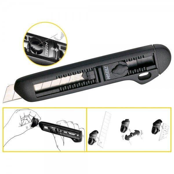 Hazet Universal-Messer 2157 - Gesamtlänge: 167 mm