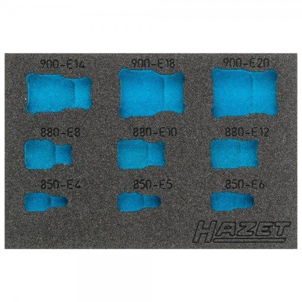 Hazet 2K-Weichschaum-Einlage 163-360L