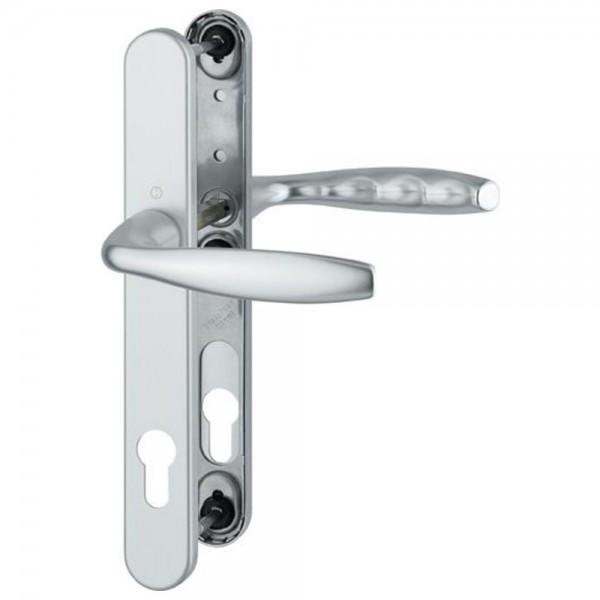 Hoppe Rahmengarnitur Schild F8707 1810/3346,8/92PZ, braun