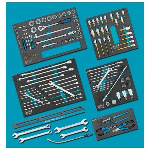 Hazet Nkw Werkzeug-Sortiment 0-22/128 - Anzahl Werkzeuge: 128
