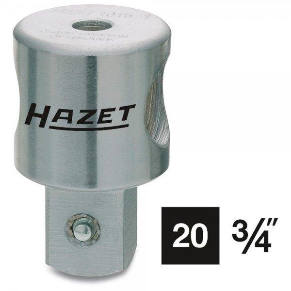 Hazet Schiebestück 1015-1 - Vierkant massiv 20 mm (3/4 Zoll) - Gesamtlänge: 60