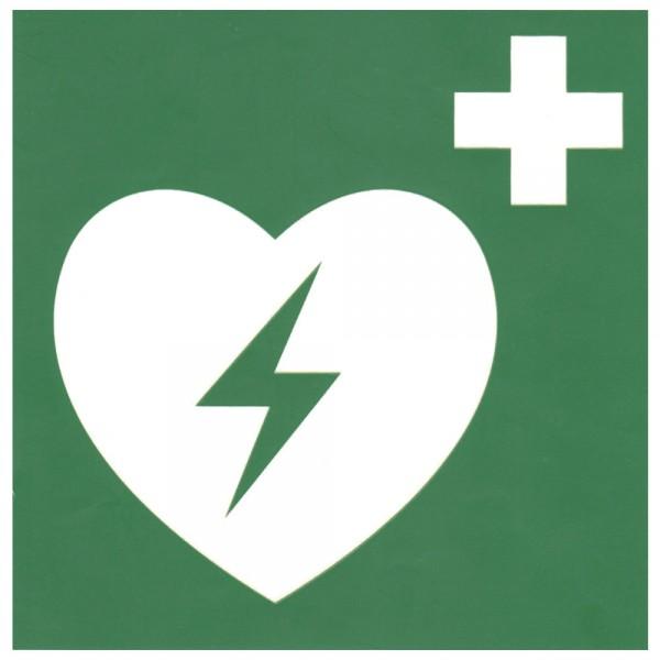 Dönges Hinweisschild AED , 15 x 15 cm