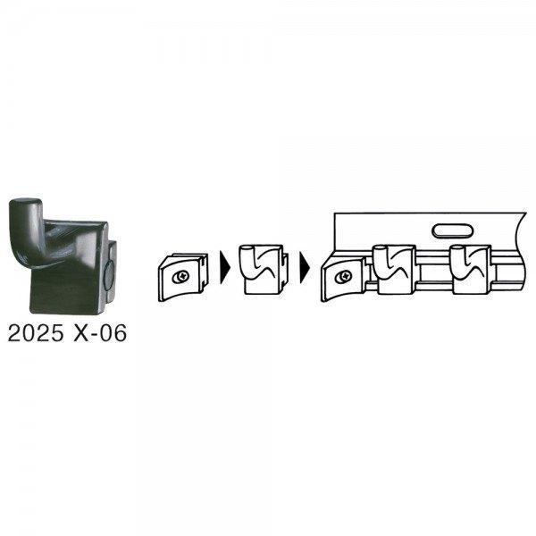 Hazet Werkzeughaken und Führungsschienen 2025X-06