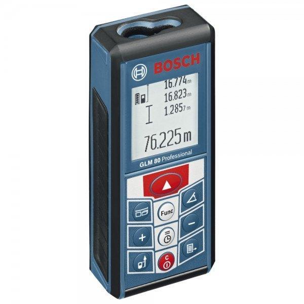 Bosch Laser-Entfernungsmesser GLM 80 Professional, 111 x 51 x 30 mm