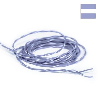 FLRY Kabel 0,35mm² verdrillt grau/grau-weiss
