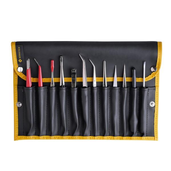 12-teiliger Satz Spezial-Pinzetten und -Werkzeuge
