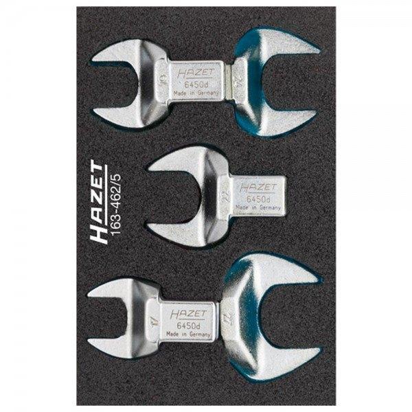 Hazet Einsteck-Maulschlüssel-Satz 163-462/5 - Einsteck-Vierkant 14 x 18 mm - Au