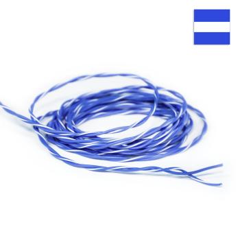 FLRY Kabel 0,35mm² verdrillt blau/blau-weiss