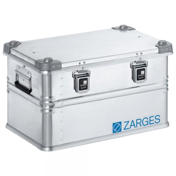 Zarges Leichtmetall-Transportkiste K 470, 600 x 400 x 340 mm, 60 l