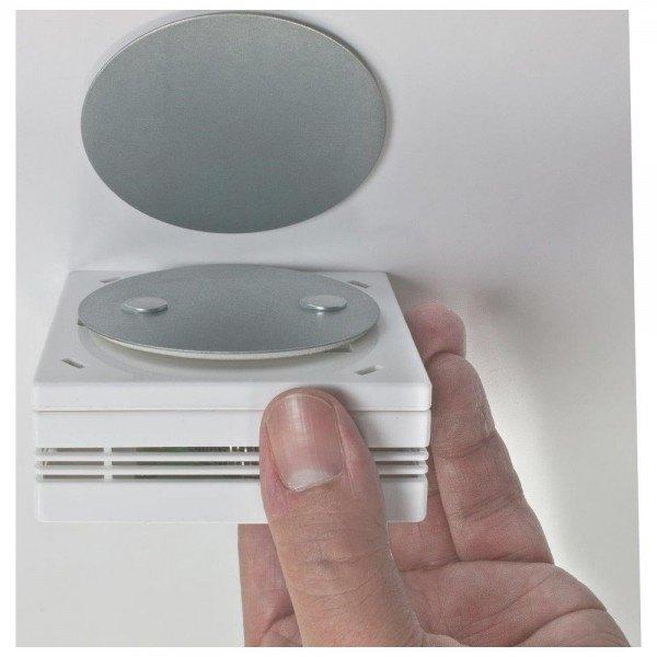 Dönges Magnetbefestigung für Rauchwarnmelder, Ø 70 mm
