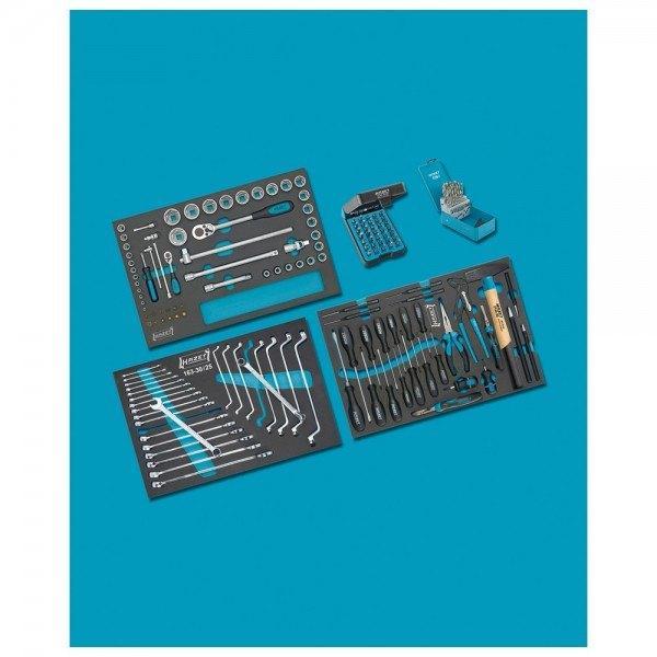 Hazet Werkzeug-Sortiment 0-178/169 - Anzahl Werkzeuge: 169
