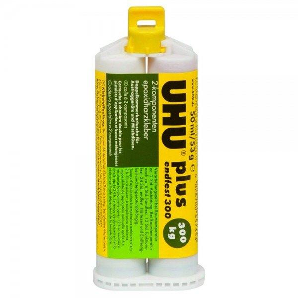 UHU PLUS ENDFEST 300, 45735, 50 ml, Doppelkammerkartusche