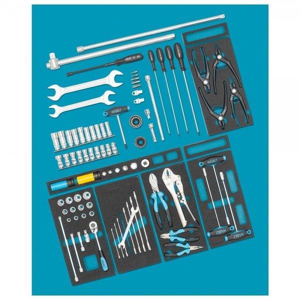Hazet Ergänzungs-Sortiment für AUDI 0-2500-163/86 - Anzahl Werkzeuge: 86