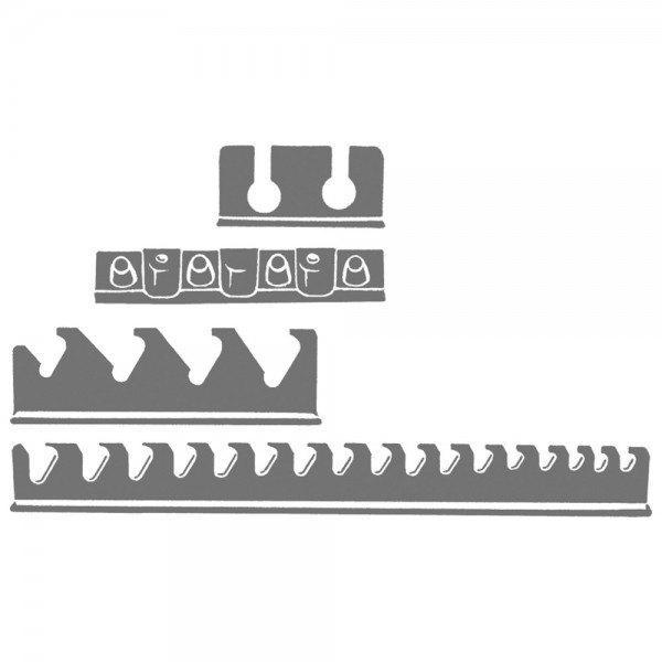 Hazet Werkzeug-Halter 111/116HL - Anzahl Werkzeuge: 14