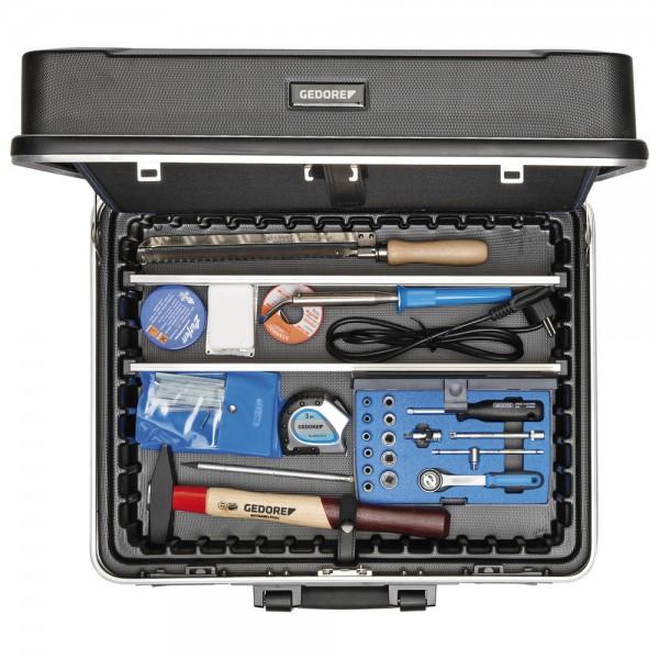 Gedore Werkzeugsortiment Elektriker 90-teilig + Koffer