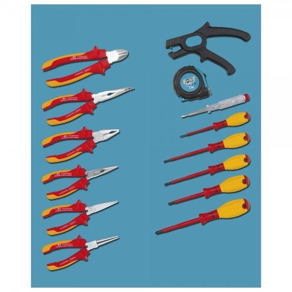 Hazet Werkzeug-Sortiment VDE 0-20/14 - Anzahl Werkzeuge: 14