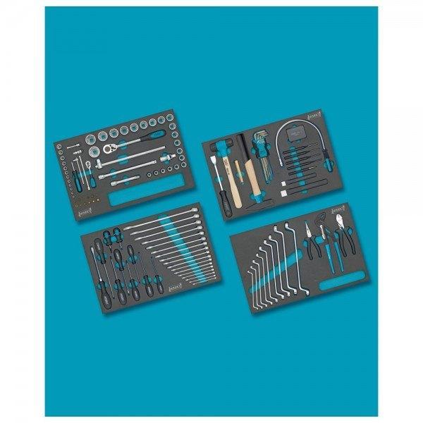 Hazet Werkzeug-Sortiment 0-7/117 - Anzahl Werkzeuge: 117