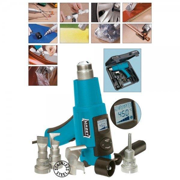 Hazet Premium-Heißluft-Handgerät 1990-2/6 - Anzahl Werkzeuge: 6