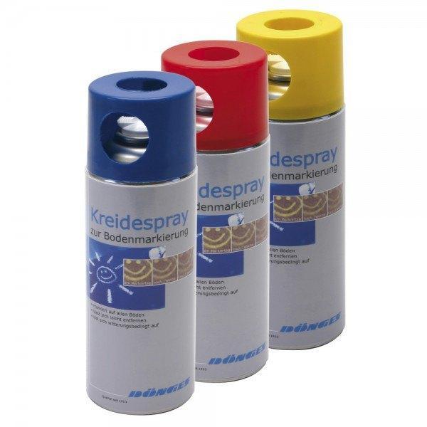 Dönges Kreidemarkierspray, 400 ml, blau, Verpackungseinheit 6 Stück