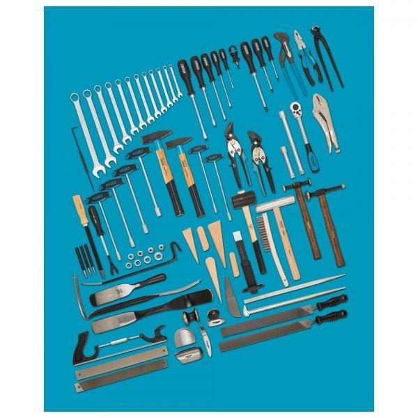 Hazet Werkzeug-Sortiment 0-1900/77 - Anzahl Werkzeuge: 77