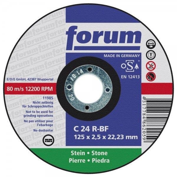 Forum Trennscheibe, 230 x 3,0 mm, Stein, gerade