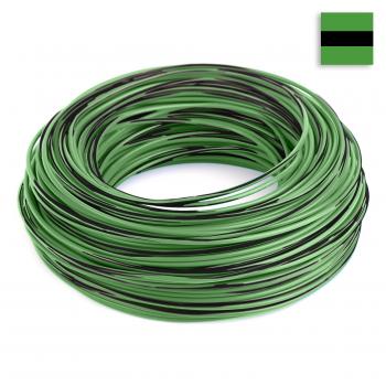 FLRY Kabel 1,50 mm² grün-schwarz