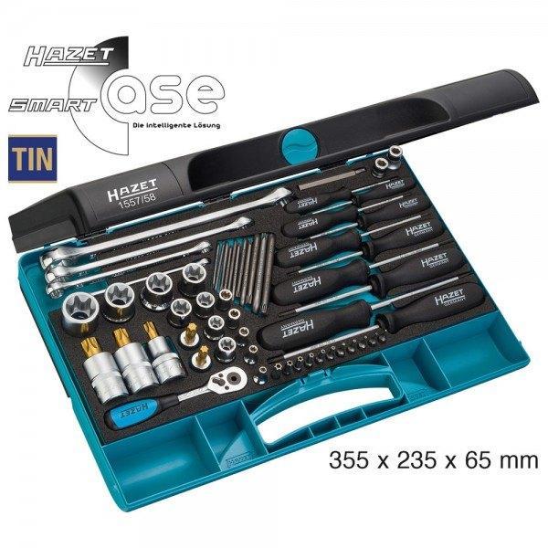 Hazet Werkzeug-Satz TORX 1557/58 - Anzahl Werkzeuge: 58