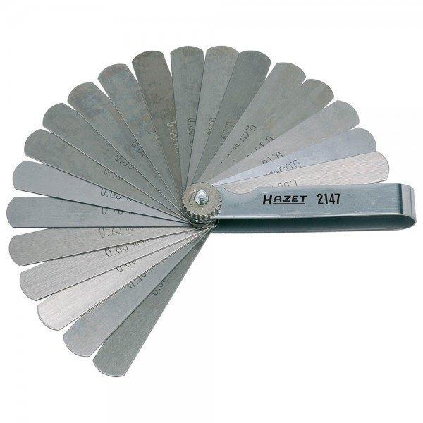Hazet Fühlerlehre 2147 - Gesamtlänge: 106 mm