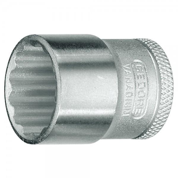 """Gedore Steckschlüsseleinsatz DIN 3124, 3/8 """", 12-kant, UD-Profil, 19 mm"""