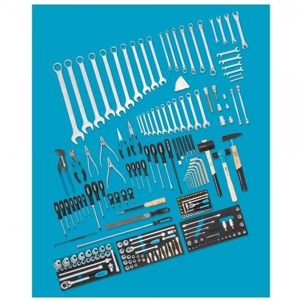 Hazet PORSCHE Werkzeug-Sortiment 0-3300/218 - Anzahl Werkzeuge: 218