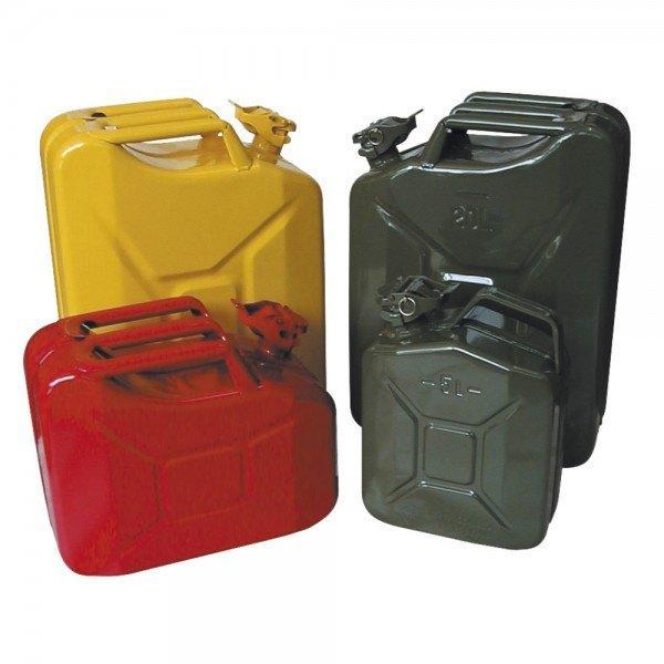 Dönges Stahlblech-Benzinkanister, 5 l, oliv