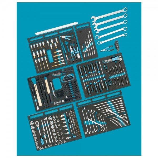 Hazet Standard-Sortiment für AUDI 0-2500-163/214 - Anzahl Werkzeuge: 214