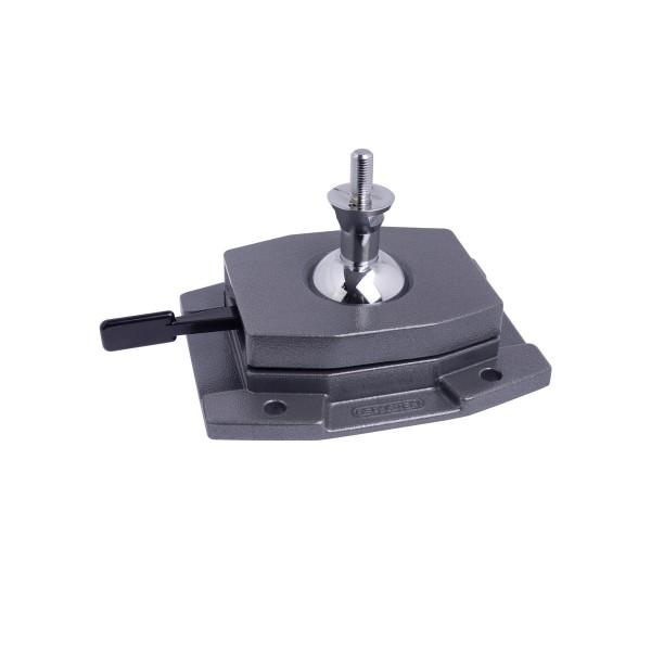 SPANNFIX-Fuß MAXI zum festen Aufschrauben, Aufnahme Ø 40 mm, Gewinde 25 mm lang