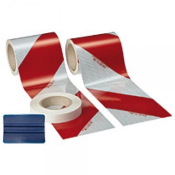 3M Kfz-Warnmarkierungs-Set 3410, rot/weiß