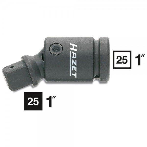 Hazet Schlag-, Maschinenschrauber-Gelenkstück 1106S - Vierkant hohl 25 mm (1 Zo