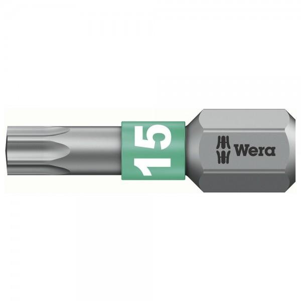 """Wera Bit 1/4"""" DIN3126 C6,3 T15 x 25 mm BiTorsion"""