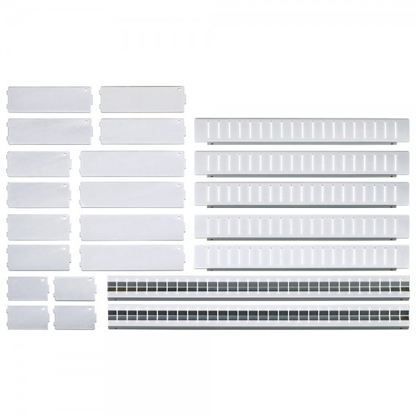 E/D/E Einteilungsset 23-teilig für Schubladen 568 x 398 mm