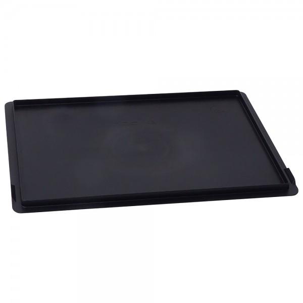 Warmbier Auflagedeckel, für Lagerbehälter Standard, ESD, 400 x 300 mm